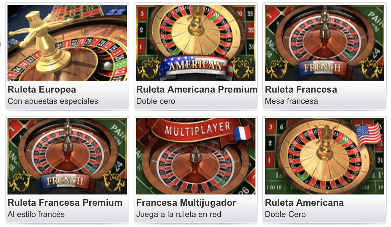 William Hill Ruleta
