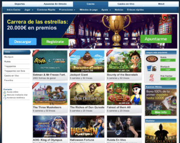 William Hill experencia